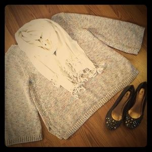 Multi Color Relaxed Sweater